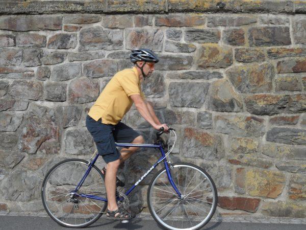 Cyklista - nastavení výšky sedla