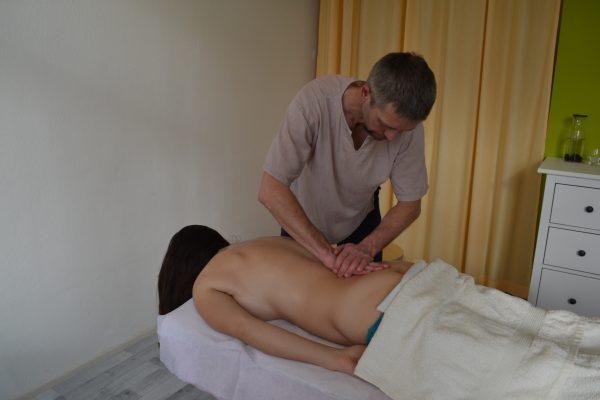 Breussova masáž páteře